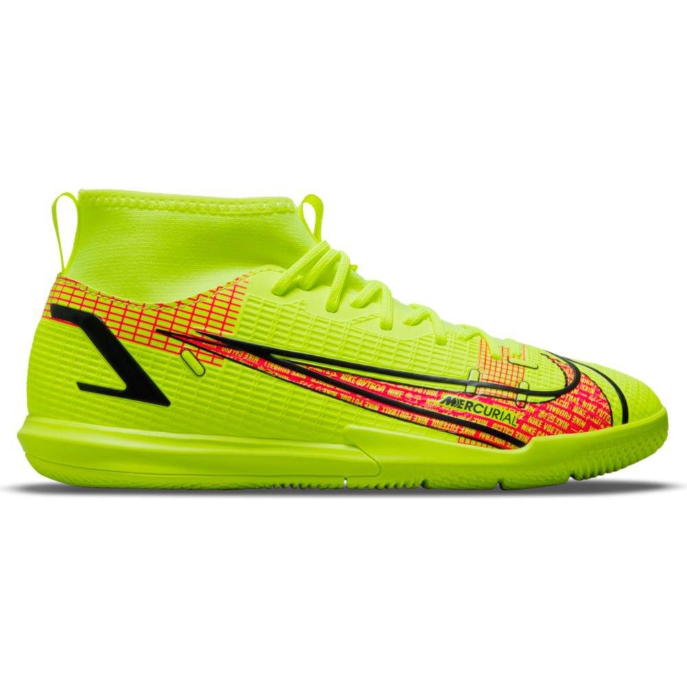 Nike Chaussures Football Mercurial Superfly Viii Academy Ic EU 38 Volt / Black-Bright Crimson