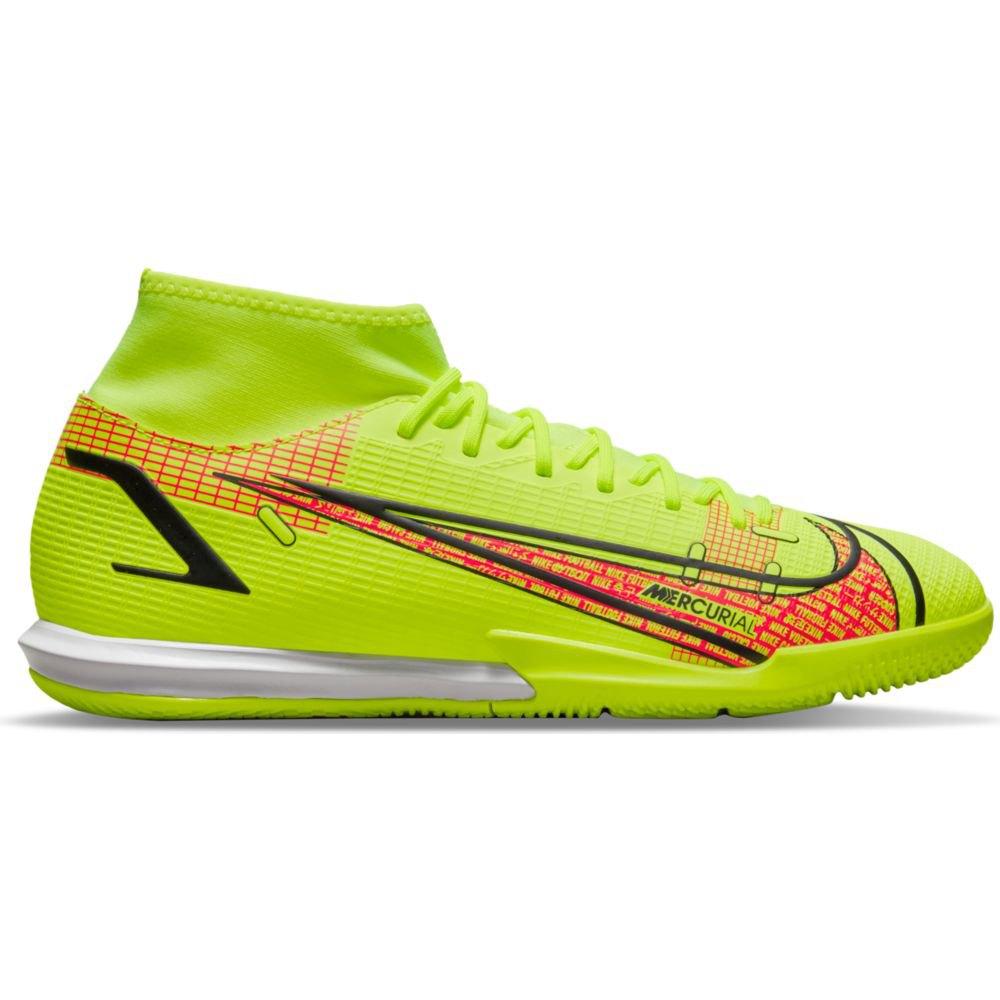 Nike Chaussures Football Mercurial Superfly Viii Academy Ic EU 40 Volt / Black-Bright Crimson