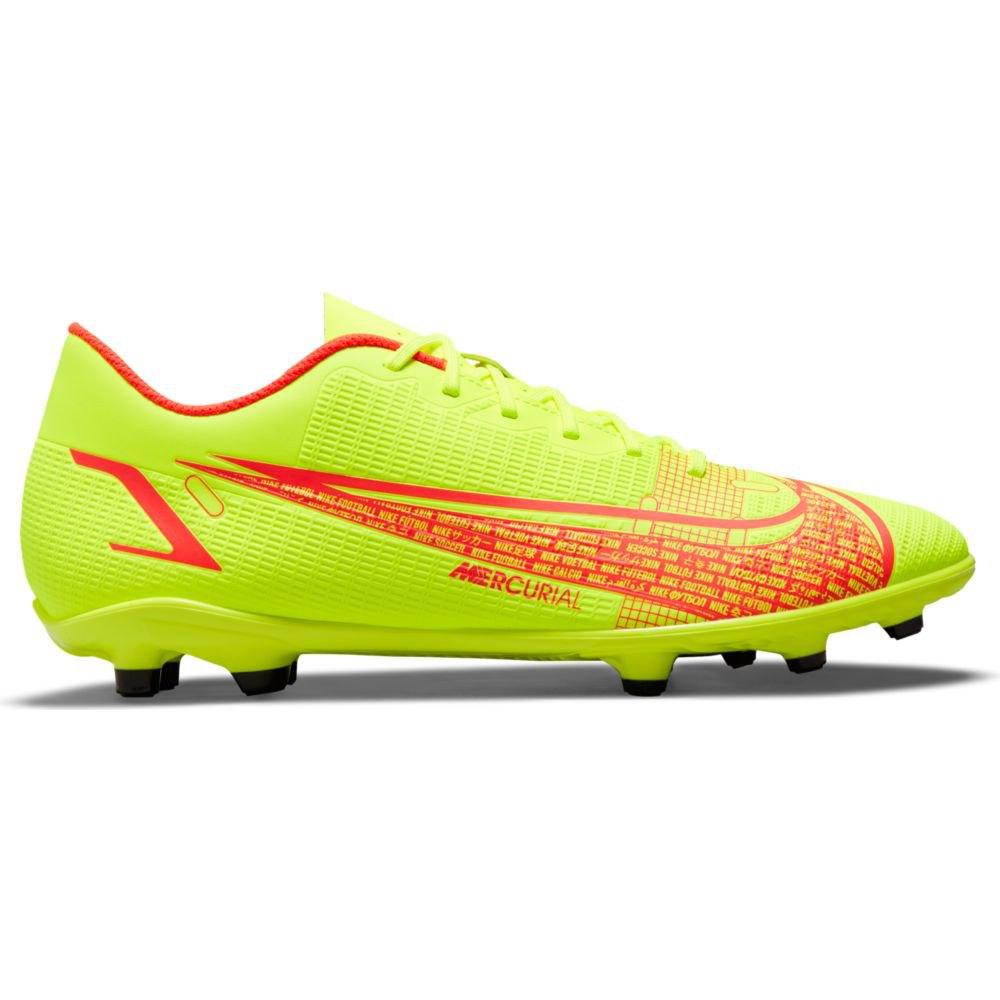Nike Chaussures Football Mercurial Vapor Xiv Club Fg/mg EU 39 Volt / Bright Crimson