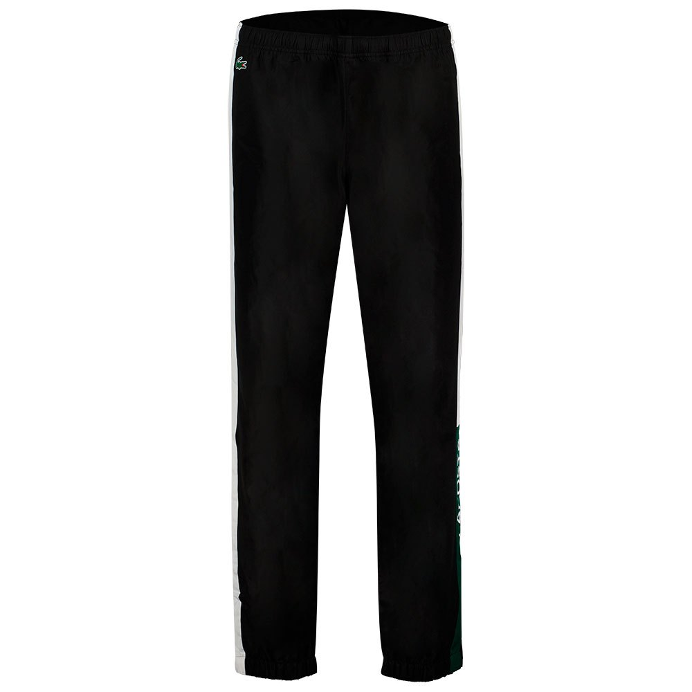 Lacoste Pantalon Longue Sport Lightweight Colourblock XS Black / White-White-Swing