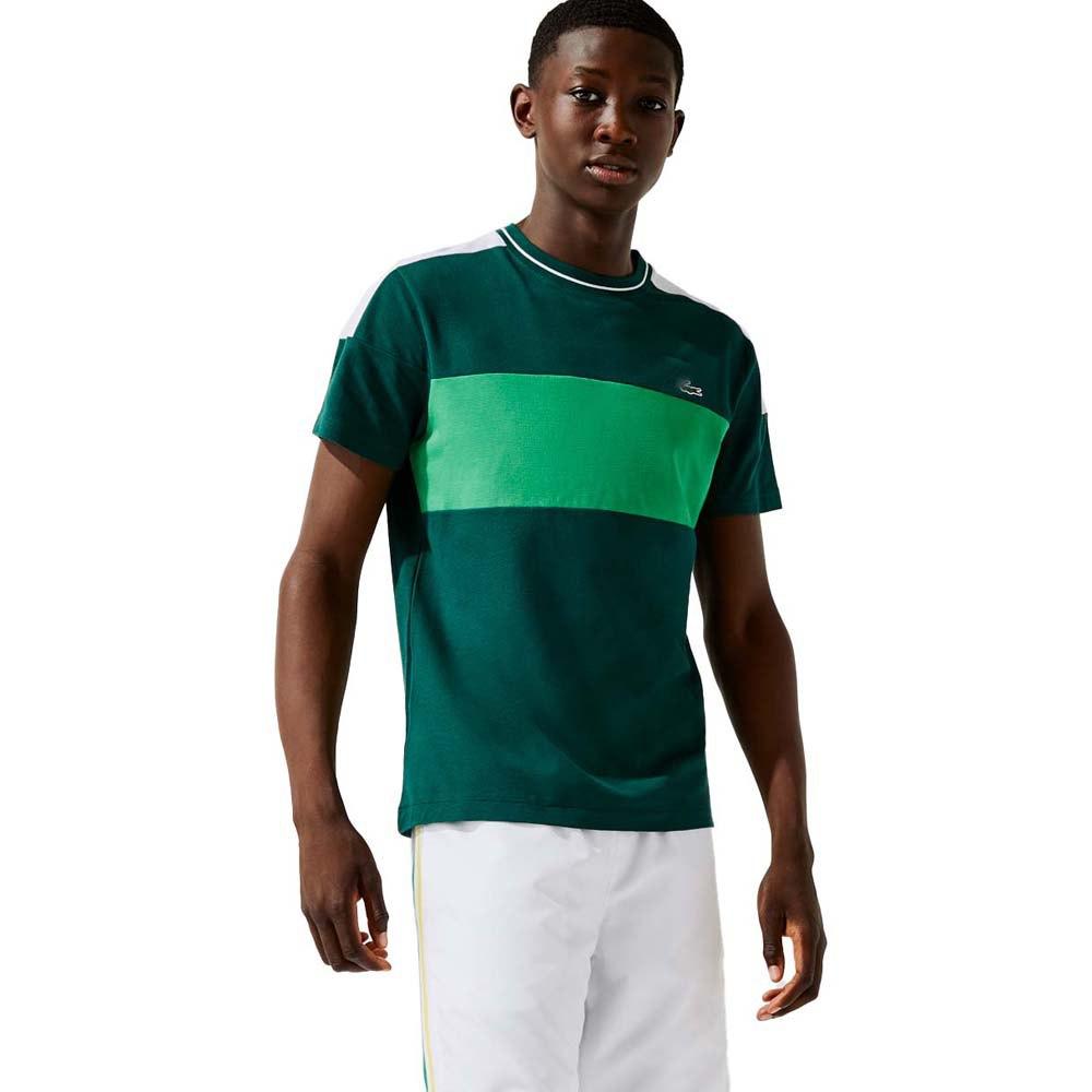 Lacoste T-shirt Garçon Sport Th6940 S Swing / Malachite-White-Bla