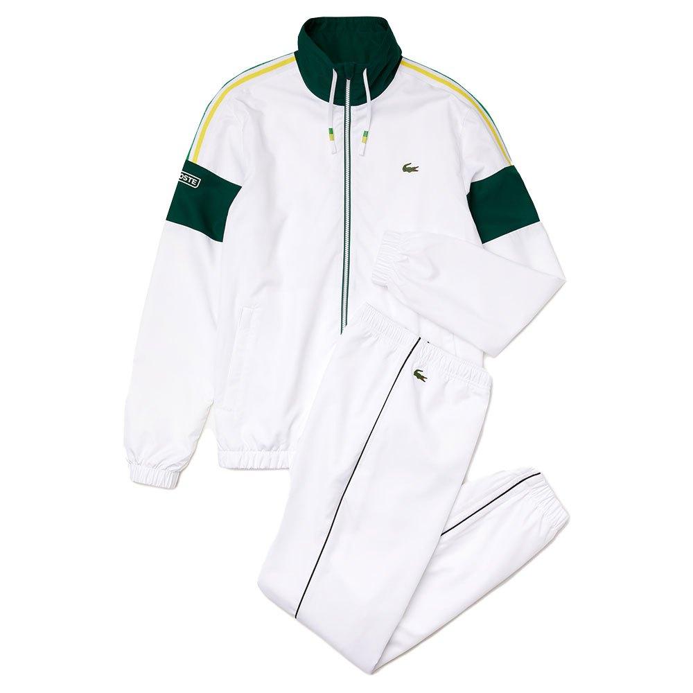 Lacoste Survêtement Sport Wh6944 M White / Swing-Malachite-Daphne