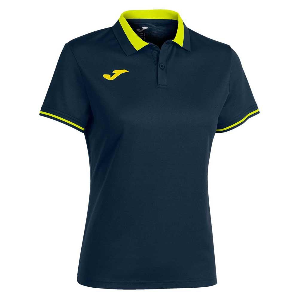 Joma Polo Manche Courte Championship Vi S Navy / Yellow