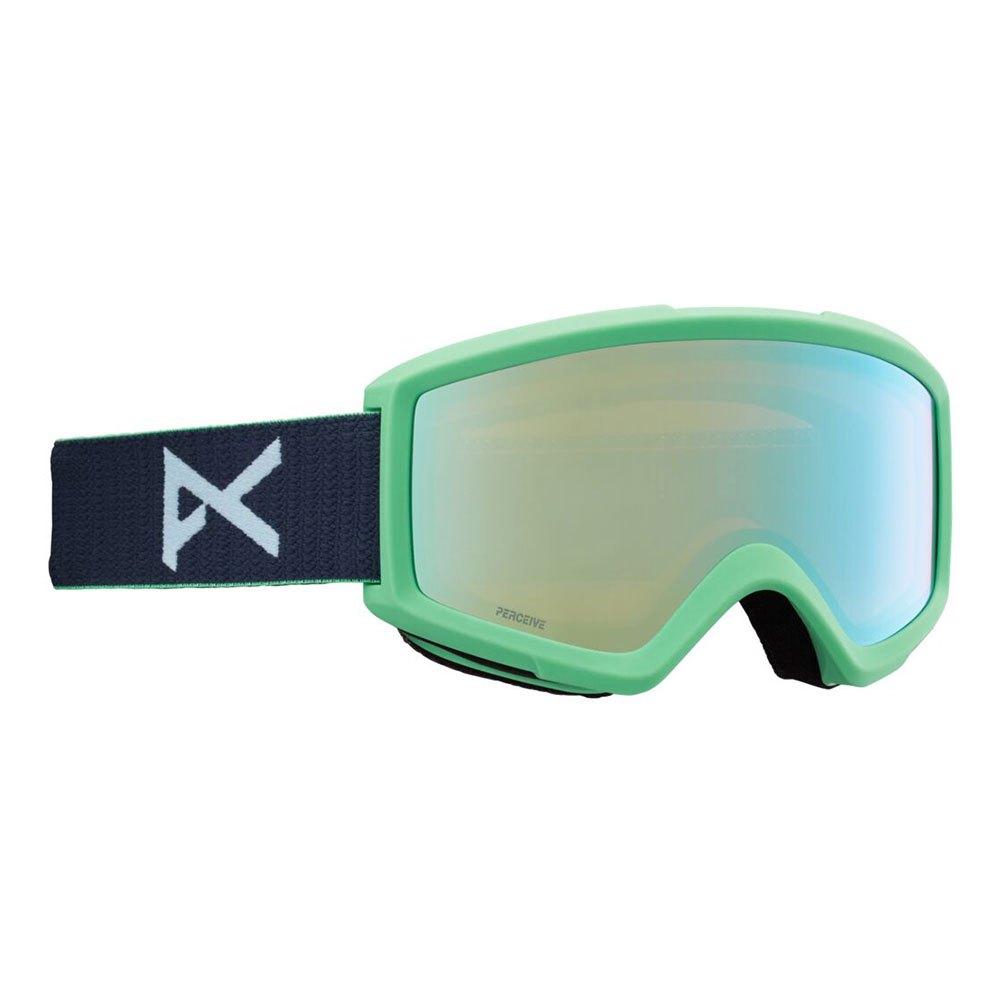 Anon Masque Ski Helix 2.0+lentille De Rechange Perceive Variable Blue/CAT2+Amber/CAT1 Navy
