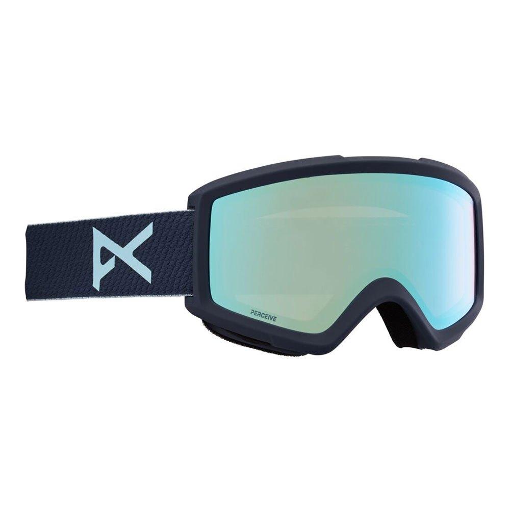 Anon Masque Ski Helix 2.0+lentille De Rechange Perceive Variable Blue/CAT2+Amber/CAT1 Oakledge