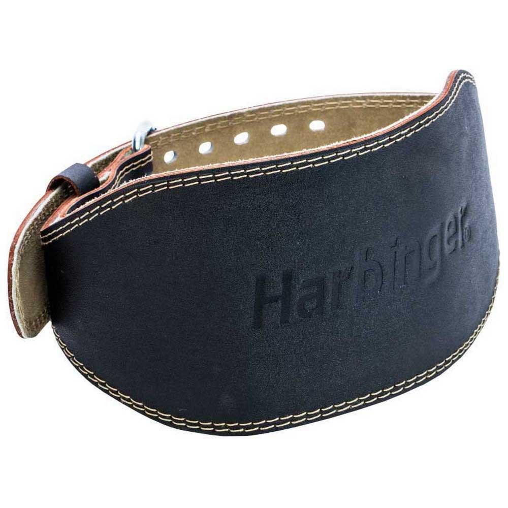 Harbinger Ceinture Musculation 6´´ Leather S Black