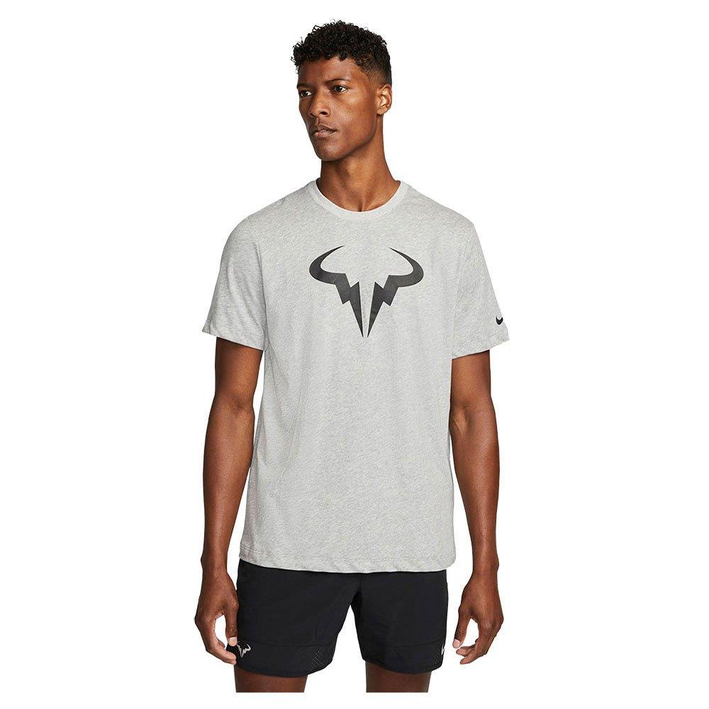 Nike T-shirt Manche Courte Court Dri Fit Rafa S Dk Grey Heather / Black