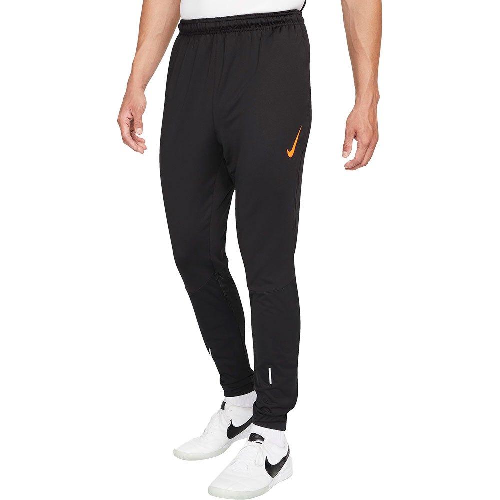 Nike Pantalons Therma Fit Strike S Black / Total Orange
