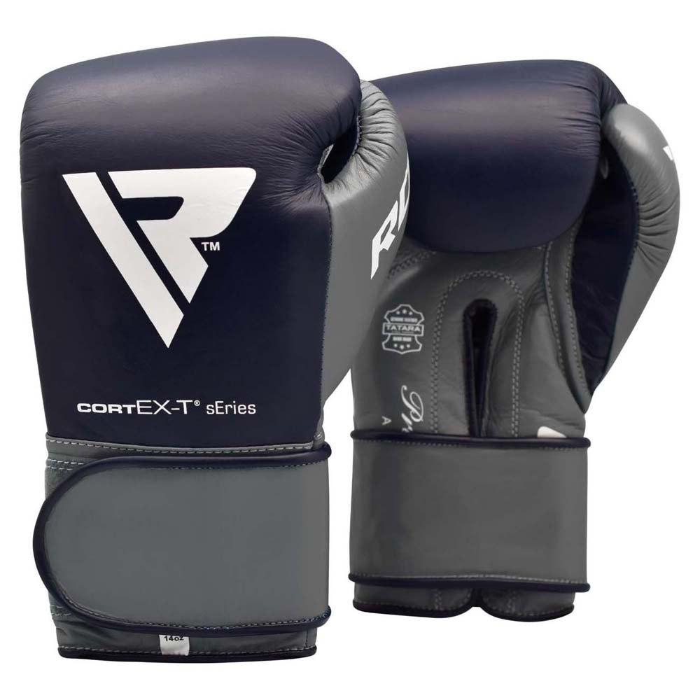Rdx Sports Gants Boxe C4 Fight Hook & Loop 10 Oz Blue