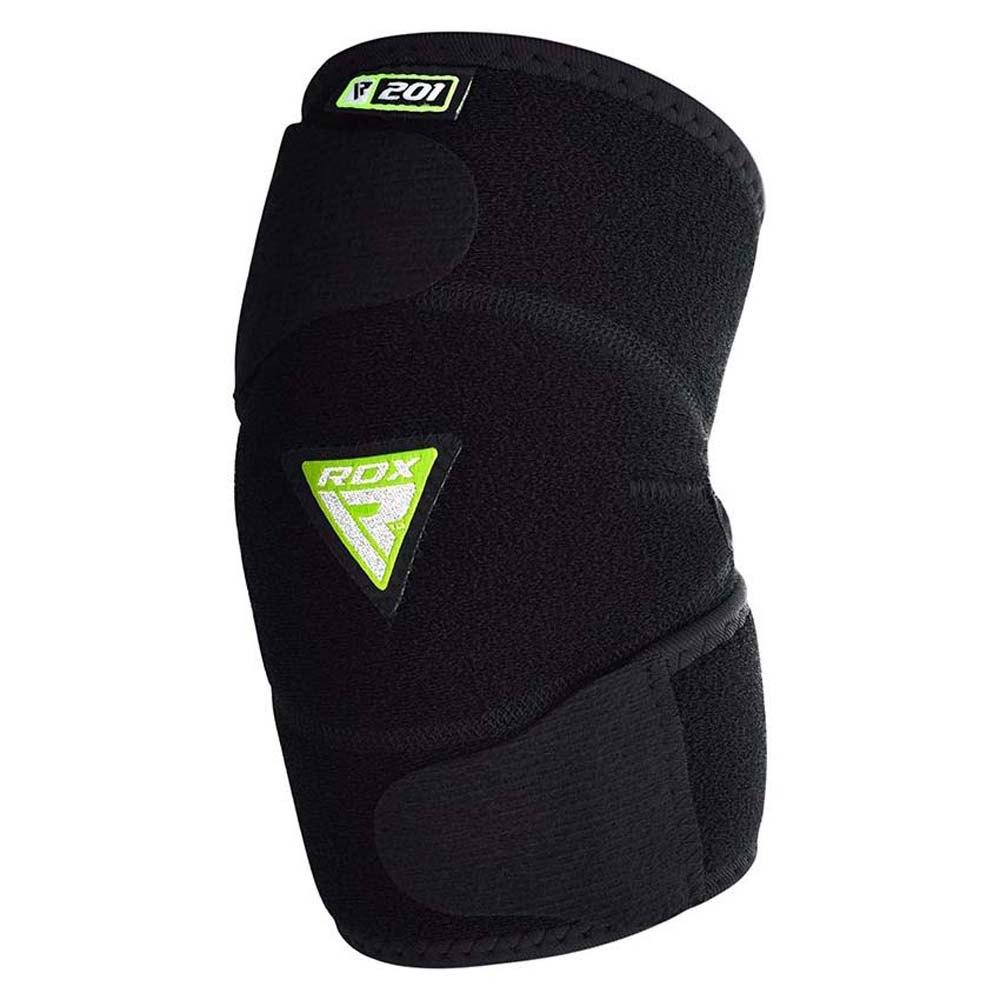 Rdx Sports Coude En Néoprène E201 Adjustable Double Strap One Size Black