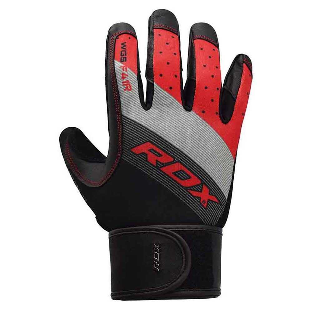 Rdx Sports Gants Longs F41 Wrist Support Strap S Red