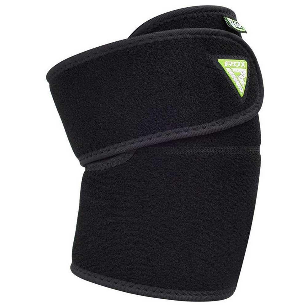 Rdx Sports Genouillère En Néoprène K502 Adjustable Double Strap One Size Black