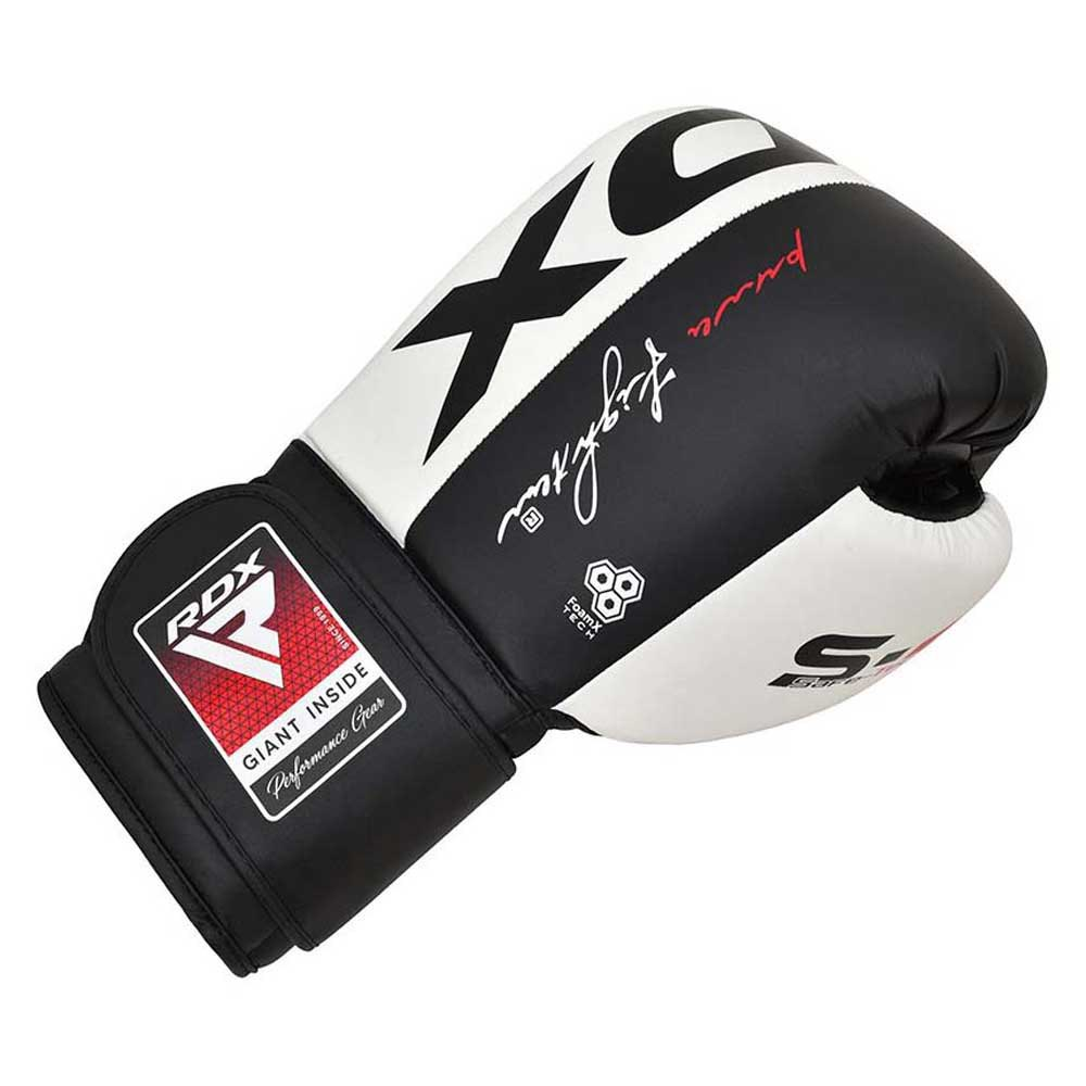 Rdx Sports Gants Boxe Leather S4 10 Oz Black