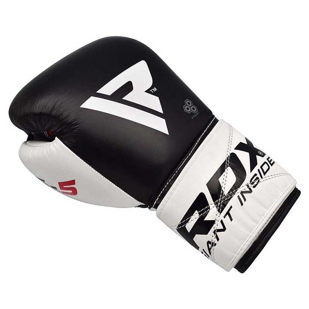 Rdx Sports Gants Boxe Leather S5 10 Oz Black