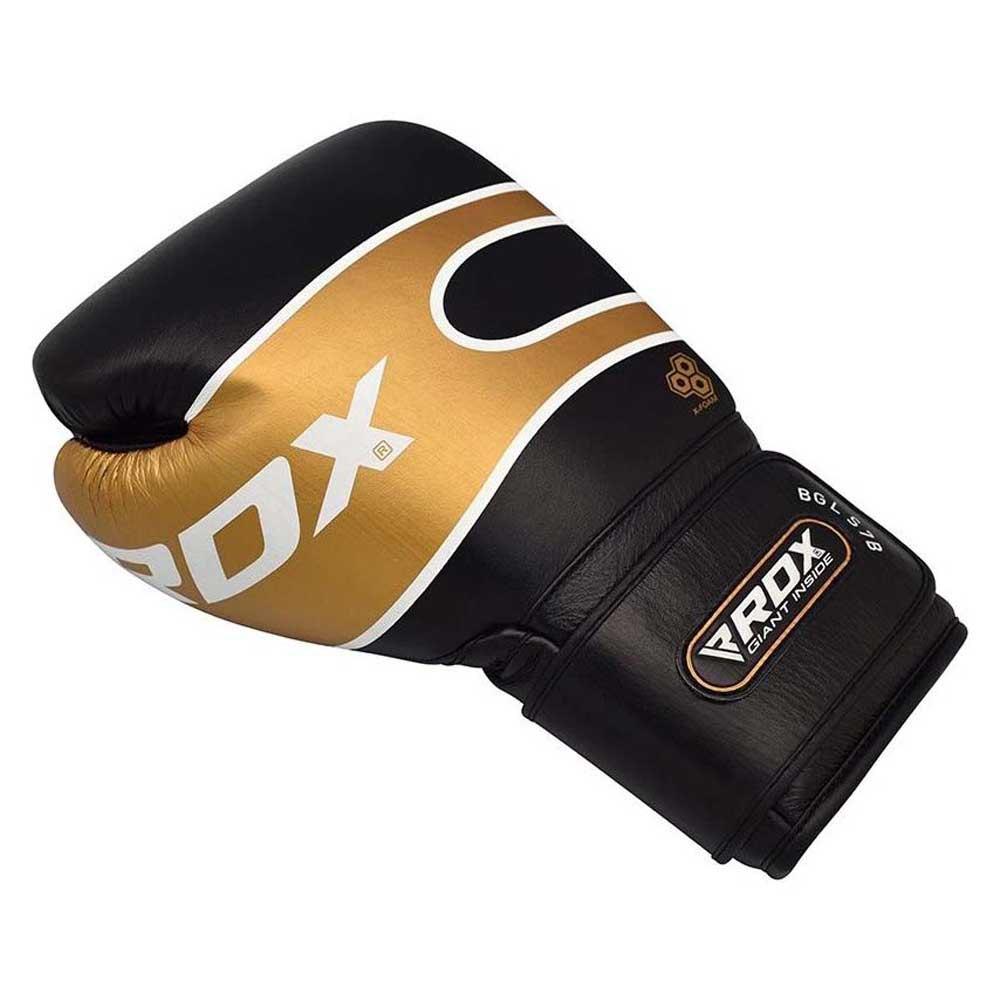 Rdx Sports Gants Boxe S7 Bazooka Hook & Loop 12 Oz Golden
