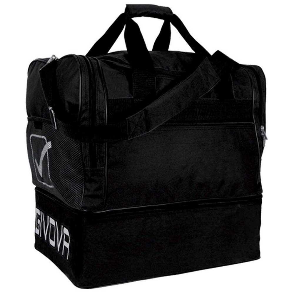Givova Sac 10 Football Duffle 63l One Size Black