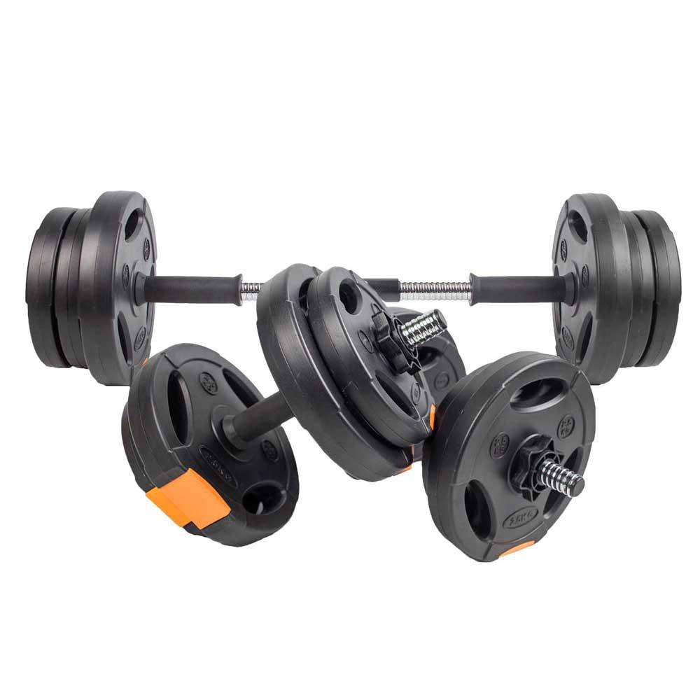 Dare2b 15 Kg Weights Set 15 kg Black