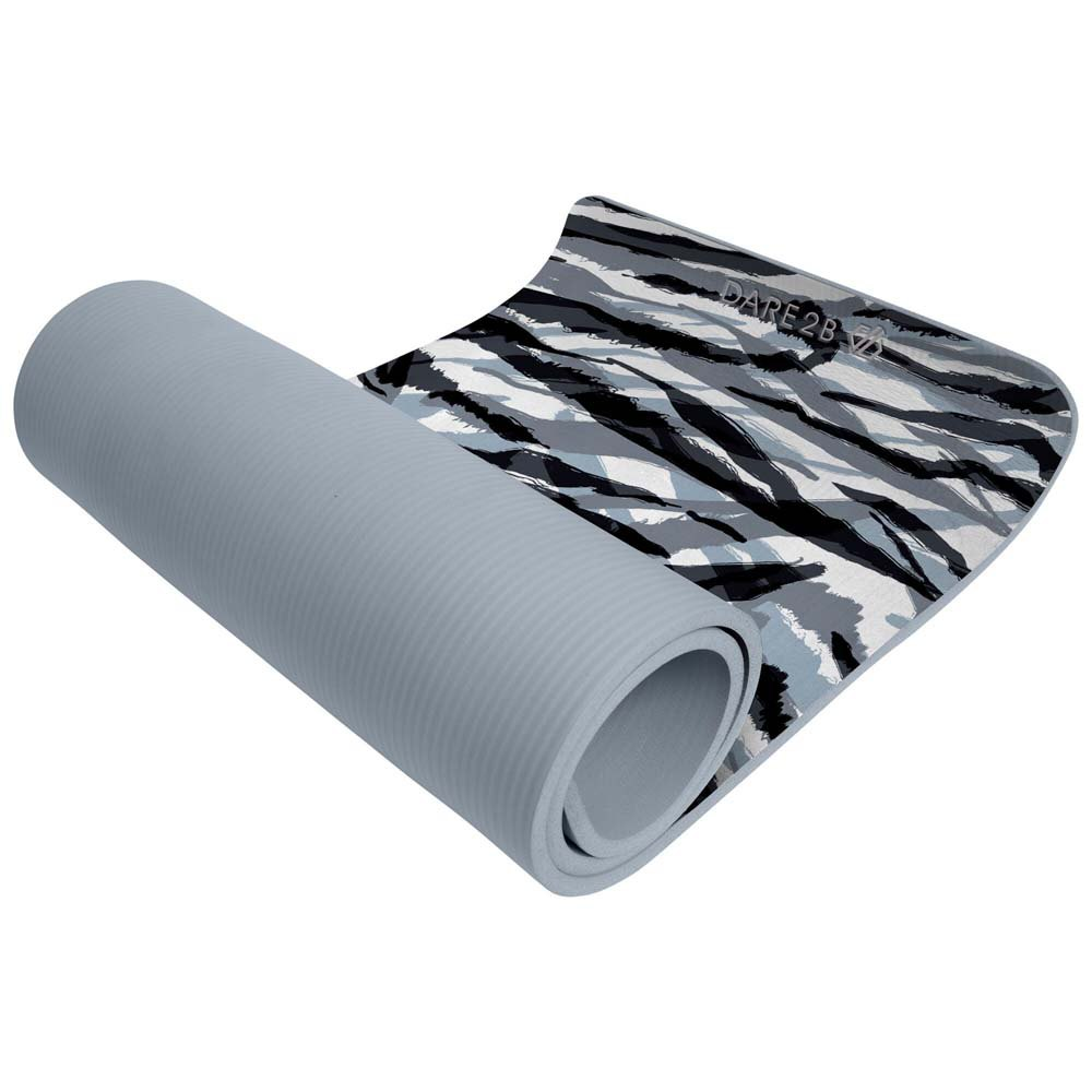 Dare2b Fitness Yoga Mat 183 X 61 Cm One Size Black White Zebra