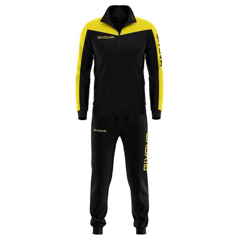 Givova Survêtement Roma XXS Black / Yellow