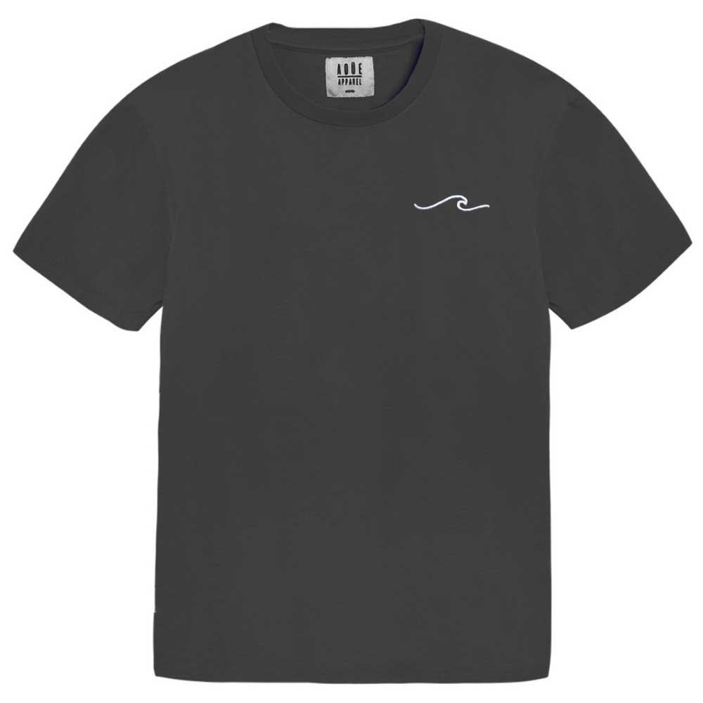 AqÜe Apparel T-shirt Manche Courte Wave S Dark Grey