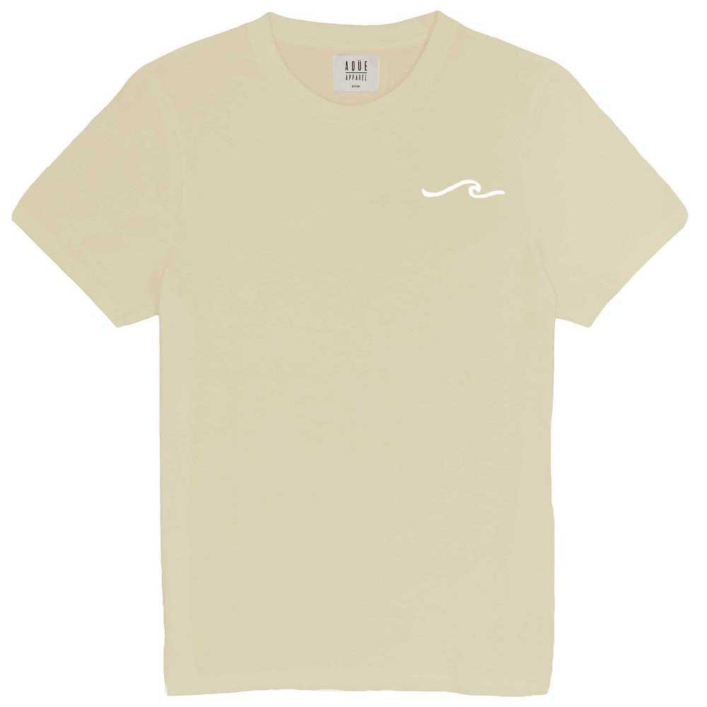 AqÜe Apparel T-shirt Manche Courte Wave S Light Sand