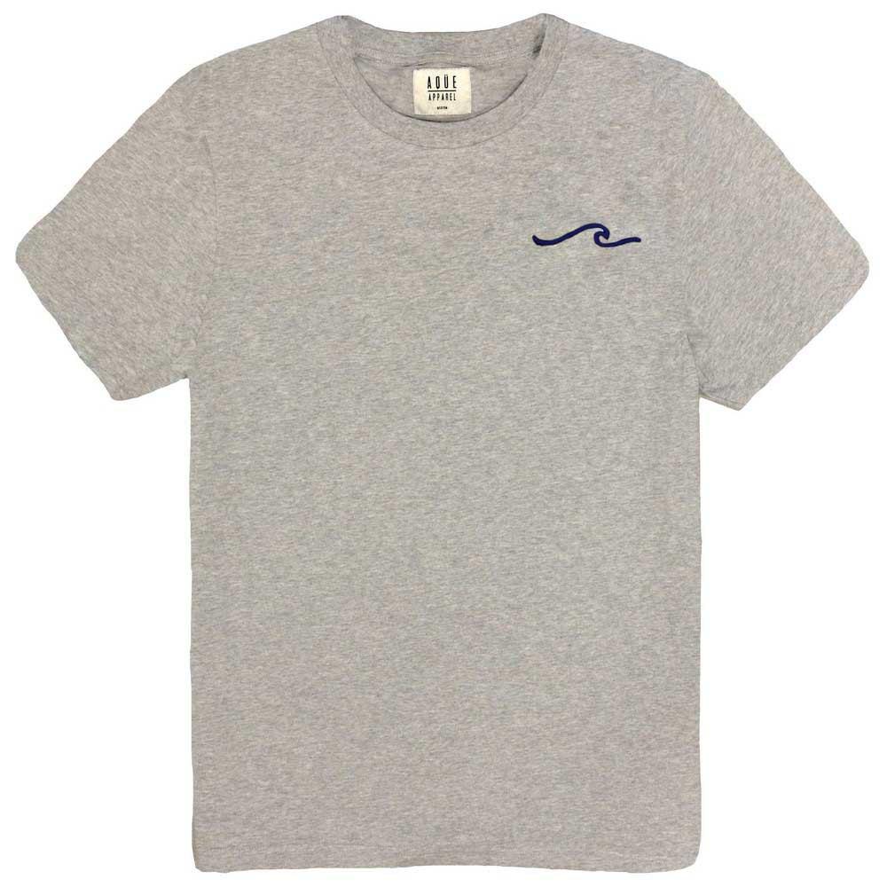 AqÜe Apparel T-shirt Manche Courte Wave L Oxford Grey