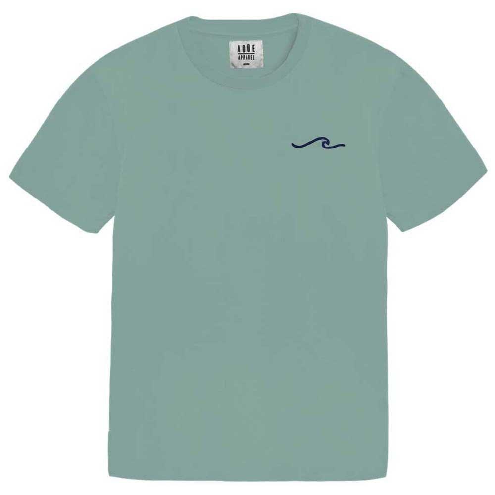 AqÜe Apparel T-shirt Manche Courte Wave S Sage