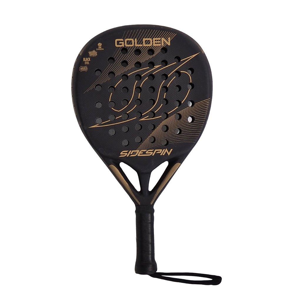 Sidespin Raquette Padel Golden Fct 3k One Size Black Sandy