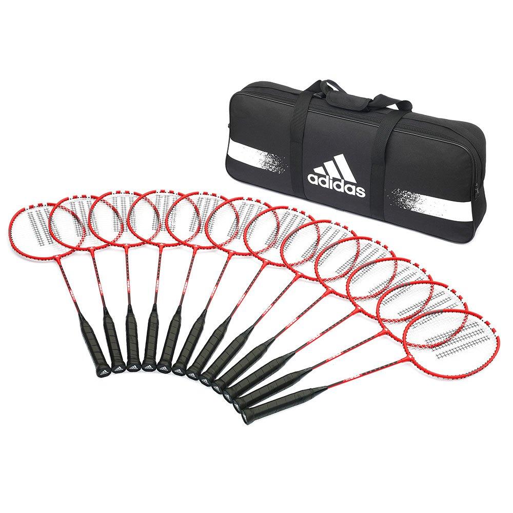 Adidas Badminton Raquette Badminton Spieler E12+sac 2 Red