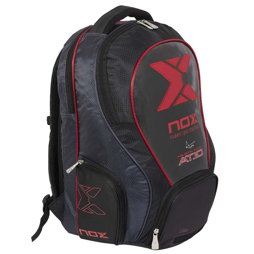 Nox Sac À Dos At10 Street One Size Black / Red