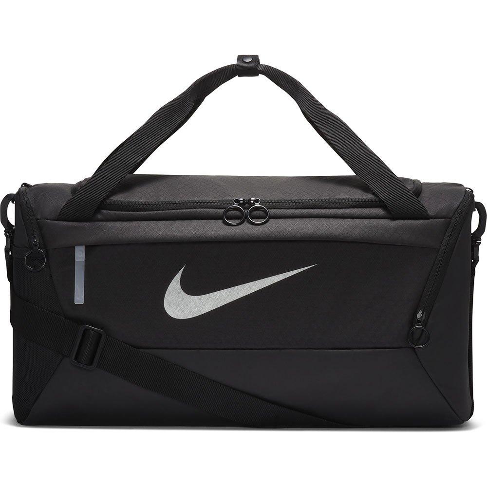 Nike Sachets De Lait Brasilia One Size Black / Black / Metallic Silver