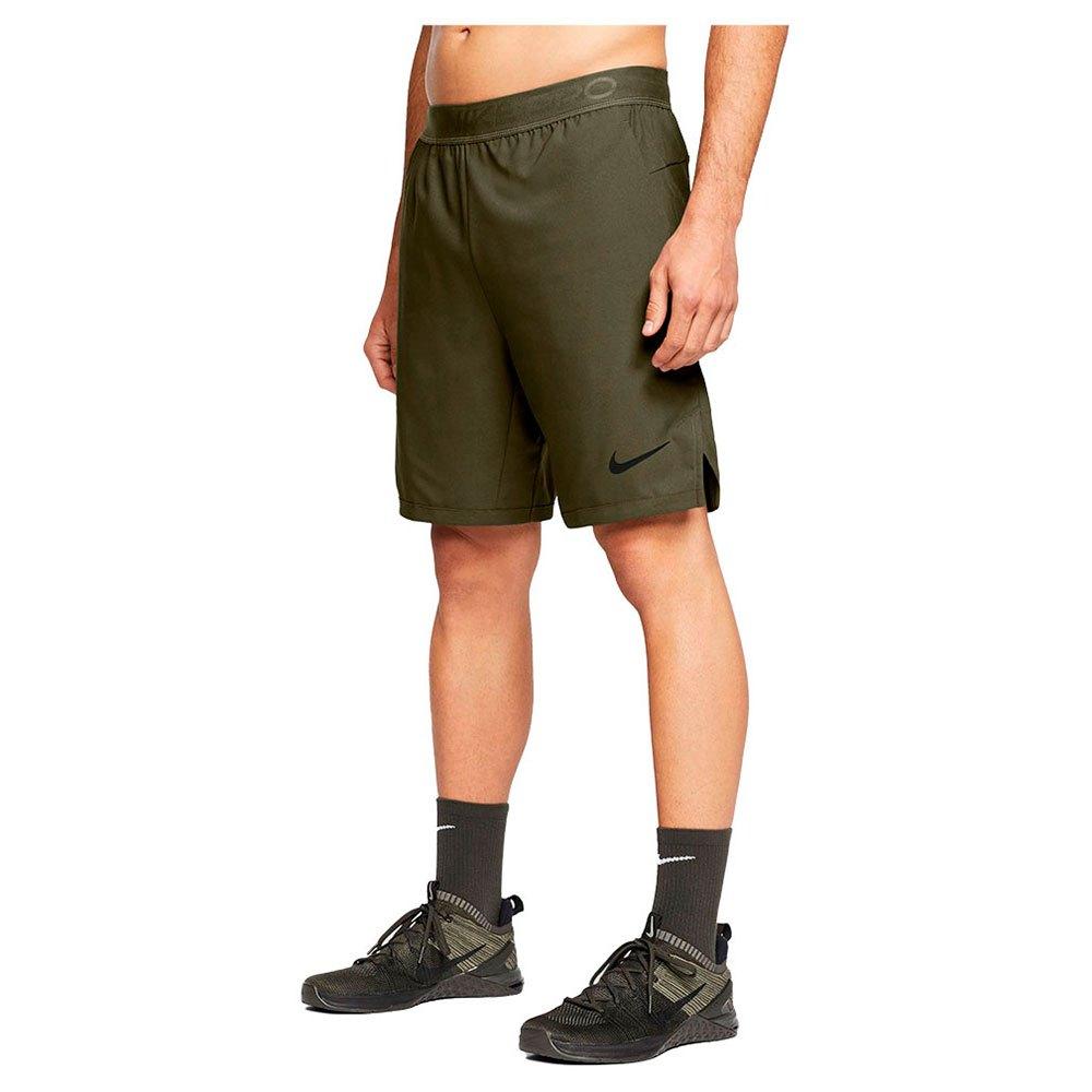 Nike Pantalons Courts Pro Flex Vent Max L Rough Green / Black