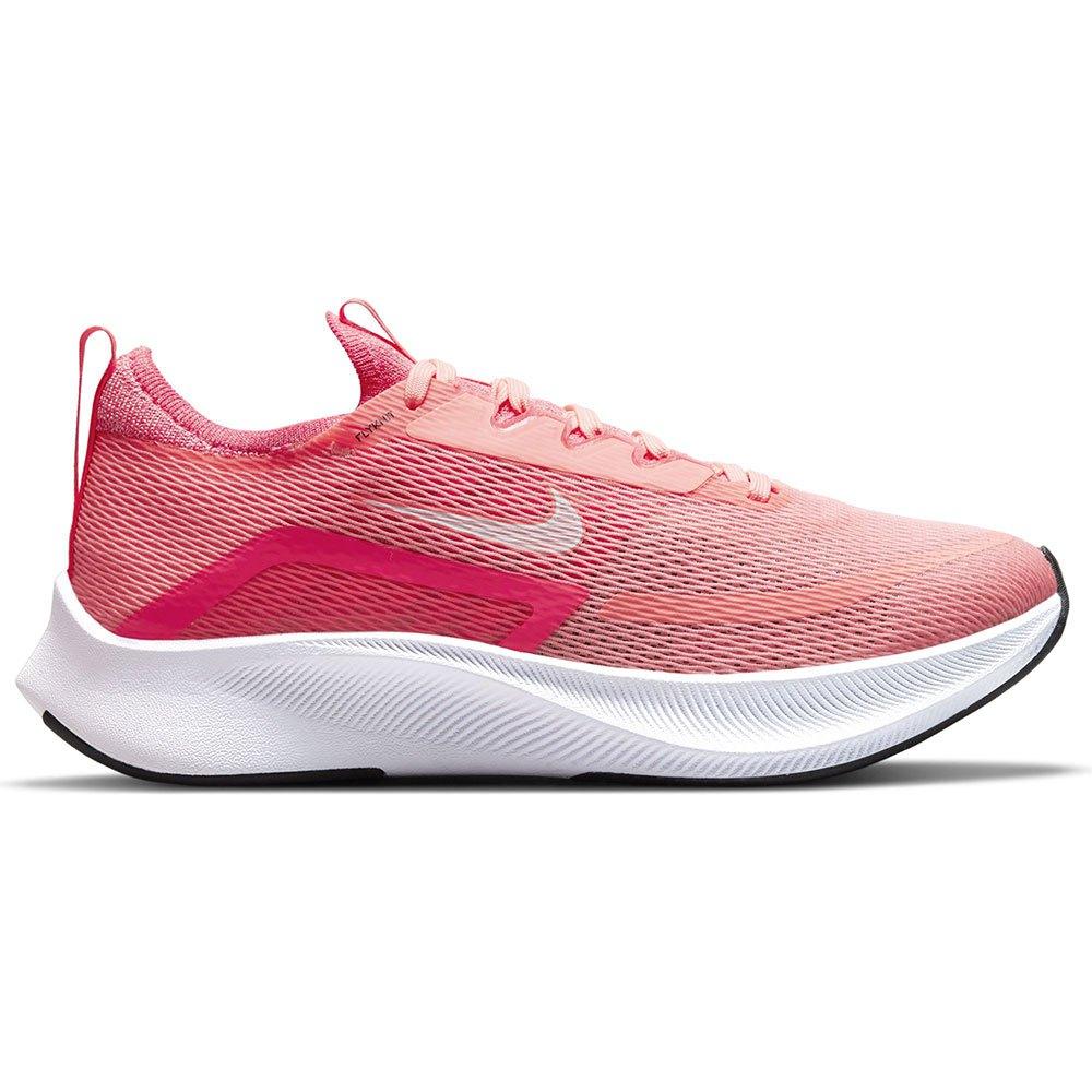 Nike Scarpe Running Zoom Fly 4 Lava Glow / White / Racer Pink / Black