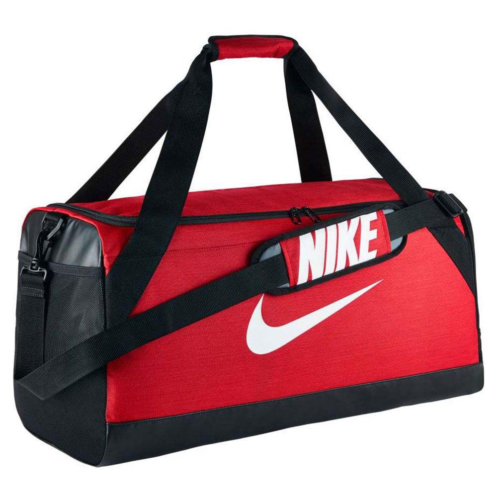 Nike Duffel Brasilia M University Red / Black / White / Black