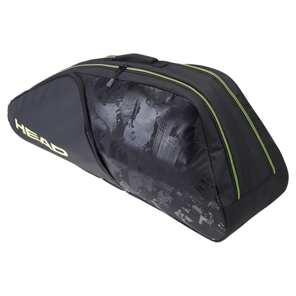 Head Racket Sac Raquettes Extreme Nite Combi One Size Black / Neon Yellow