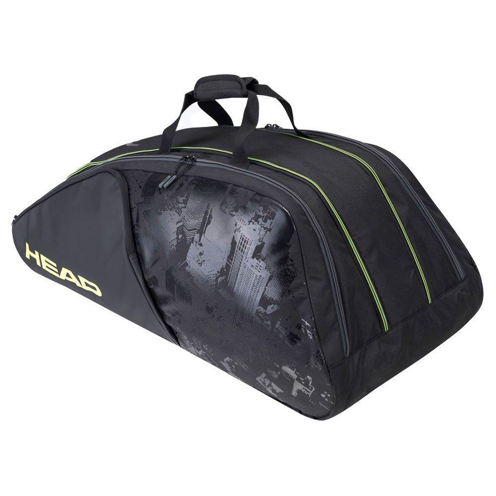 Head Racket Sac Raquettes Extreme Nite Monstercombi One Size Black / Neon Yellow