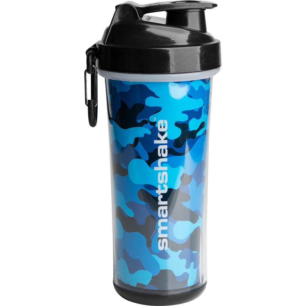 Smartshake Shaker Double Wall 750ml One Size Camo Blue