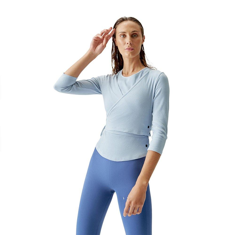 Born Living Yoga Cardigan Dance Jacket S Nordic Blue