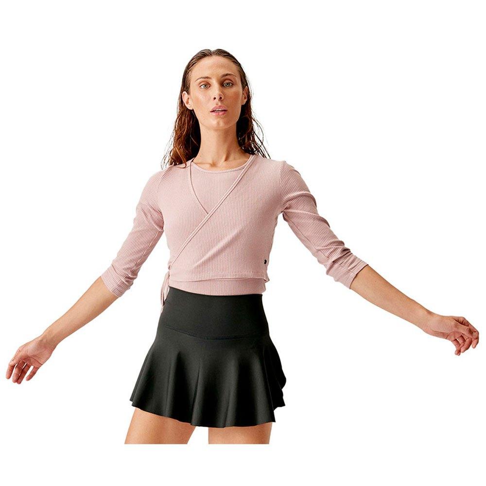 Born Living Yoga Cardigan Dance Jacket S Nude