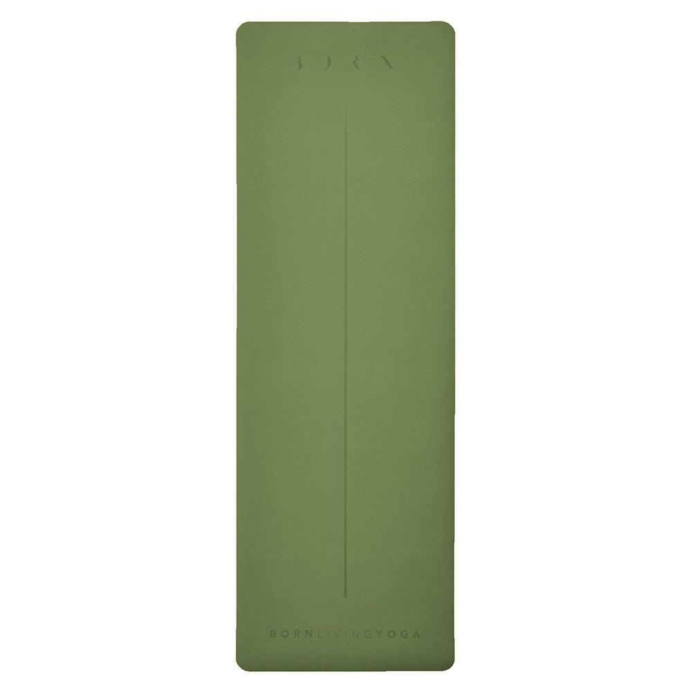Born Living Yoga Tapis 181x61x0.4 cm Hunter