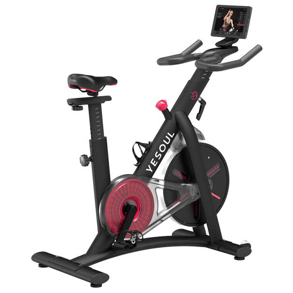 Yesoul Vélo D´exercice En Rotation S3 Pro One Size Black / Red