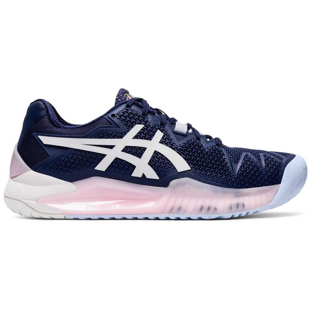 Asics Chaussures Gel Resolution 8 Reconditionné EU 38 Peacoat / White
