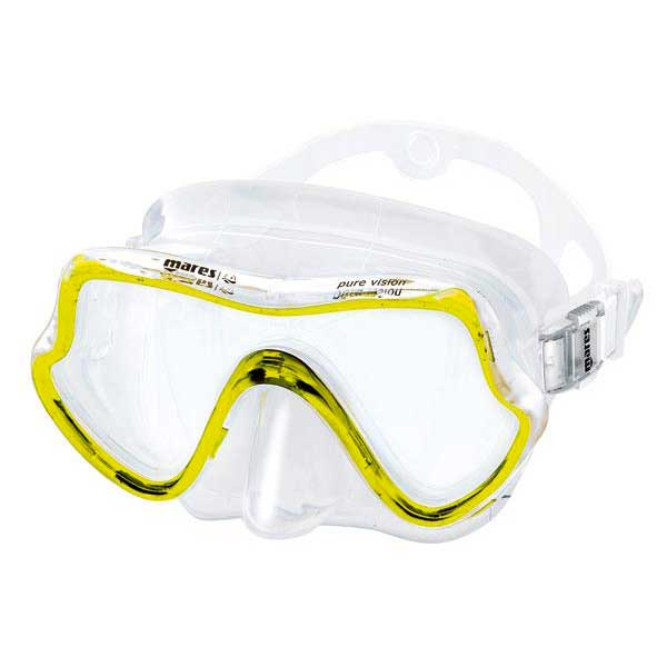 mares-set-pure-vision-one-size-clear-yellow
