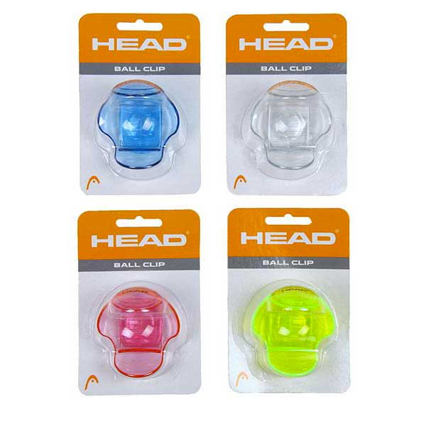 Head Racket Clip Balle One Size Assorted