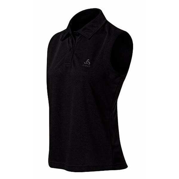 Odlo Polo Shirt Ss Mura XS Black