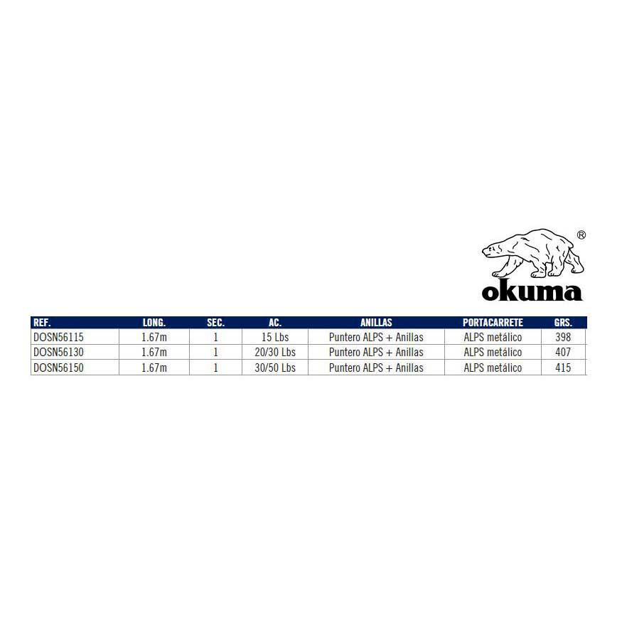 Okuma Solterra 30-50 30-50 30-50 Lbs , Angelruten Okuma , angelsport , Angelausrüstung 6363a2