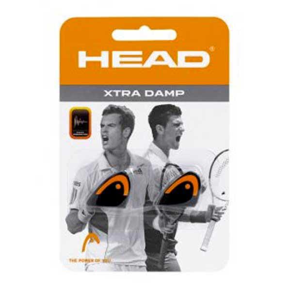 Head Racket Xtra 2 Units One Size Black / Orange