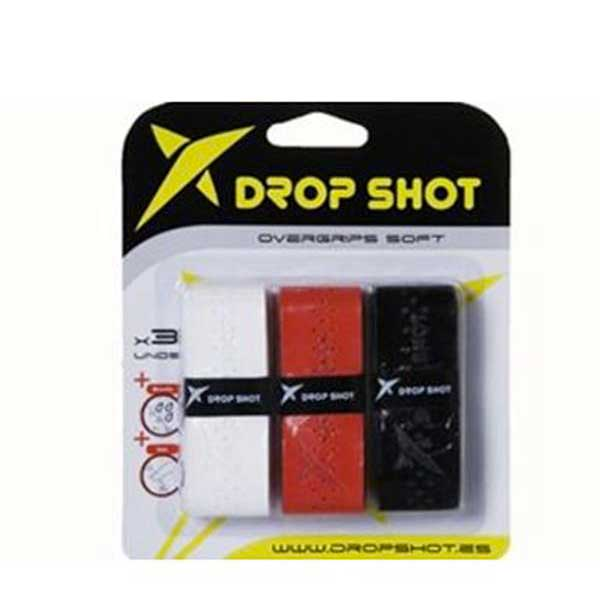 Drop Shot Soft 3 Units One Size White / Red / Black