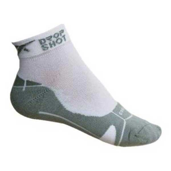 Drop Shot Short Socks EU 35-38 White