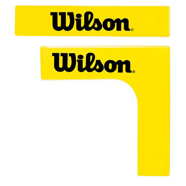 Wilson Tennis Court Lines 16 Units One Size Yellow / Black